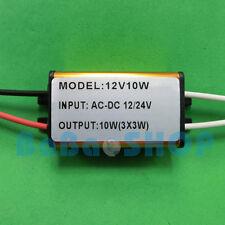 10W Waterproof AC/DC Driver 12V~24V Power Supply for LED Lamp Light Spotlight