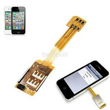 Dual SIM Card Single Standby Adapter Converter For iPhone 6  5S 5C 5