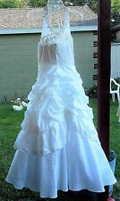 Wedding Dress- Mary's Bridal - Matches a Child's Wedding Dress I Have Listed