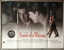 Cinema Poster: SCENT OF A WOMAN 1993 (QUAD) Al Pacino Chris O'Donnell