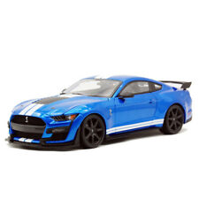 Maisto 1:18 2020 Ford MUSTANG SHELBY GT500 Simulation Blue Car Model New In Box