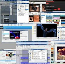 Video Editing Movie DVD publishing authoring audio video conversion for Windows