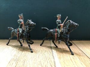 Britains: From RARE EARLY Set 170 - Greek Cavalry. First Version c1920