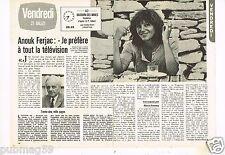 Coupure de presse Clipping 1979 (2 pages) Anouk Ferjac