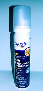 Equate Minoxidil Topical Aerosol  5% Hair Regrowth Treatment Men Exp 04/2022