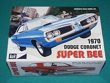 1970 Dodge Coronet Super Bee MPC 1/25 Complete & Unstarted.