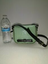Kate Spade New York Turquoise Patent Leather Small Crossbody Shoulder Bag Purse
