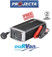 PROJECTA IC1500 12V BATTERY CHARGER POWER SUPPLY 15AMP 7 STAGE MULTI CHEMISTRY