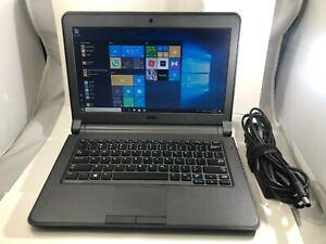 Dell Laptop 3340 500GB 8GB RAM i3-4005U HDMI Windows 10 Pro Webcam  Zoom Ready