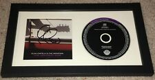 ELVIS COSTELLO SIGNED AUTOGRAPH THE DELIVERY MAN FRAMED MATTED CD w/EXACT PROOF