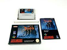 Nintendo SNES Bram Stoker`s Dracula Complete [FAH] ► Rare◄