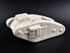 Arcadian Crested China Large WW1 Tank * West Hartlepool *
