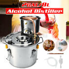3/5/8G  2POT Alcohol Distiller Brewing Kit Moonshine Still Stainless Wine Boiler