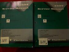 1997 GM FACTORY CHEVROLET CAMARO & PONTIAC FIREBIRD SERVICE MANUAL SET OF 2