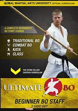 Ultimate Bo: Beginner Bo Staff Training Course - 2 DVD Set
