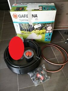 GARDENA OS 140 Sprinklersystem Komplett-Set OHNE Versenk-Viereckregner, 8221-20