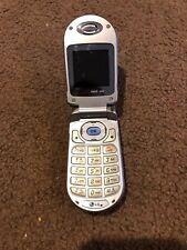 LG Model VX3200 Slate Blue/Silver Verizon Wireless Flip Cell Phone - Tested