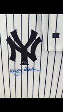 Whitey Ford Signed Front Jersey New York Yankees Steiner COA Russell Autographed