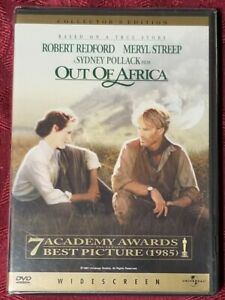 Out of Africa DVD (2000) Collectors Edition BRAND NEW SEALED! Meryl Streep