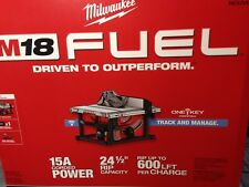 "Milwaukee 2736-21HD M18 Fuel 8-1/4"" Table Saw with One-Key Kit - New In Box"