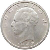 BELGIUM 50 FRANCS 1939 TOP #s48 123