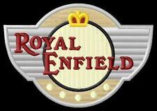 Royal Enfield shield ecusson brodé patche patch Lightning 535 500 Mofa  Mini