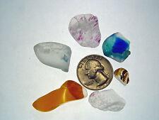 Assorted Surf Tumbled Sea Glass Lot 2029