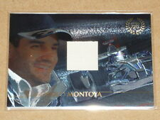2005 Futera Grand Prix Racing Memorabilia Race Suit Card - MONTOYA #224/295