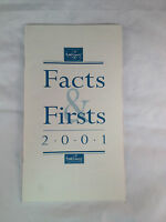 WDCC - Walt Disney Classics Collection Facts & Firsts Price List 2001