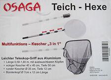 Osaga Multifunktions Teich Kescher drei Funktionen In einem