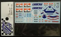 DECALS F'ARTEFICE FM-0063 1/20 FERRARI 641/2 1990 TOBACCO CONVERSION