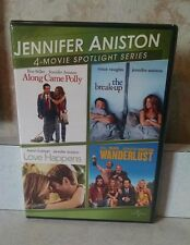 Jennifer Aniston: 4-Movie Spotlight Series (DVD, 2013, 2-Disc Set) BRAND NEW