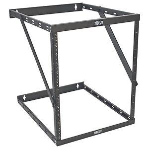 "Tripp Lite 8u 12u 22u 2 Post Open Frame Rack Cabinet Expandable 23.5"" Depth -"