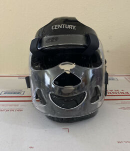 Century Full Head Gear with Face Shield Mask Sparring - Pre-owned