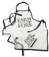 New listing Modern Homestead Farm To Fork Apron & Oven Mitt Set