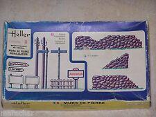 Diorama Heller  1/35ème MURS DE PIERRE SIGNALISATION