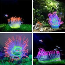 Silicone Flexible Sea Anemone Aquarium Soft Coral Decoration Fish Tank Plant New