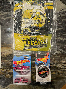 2021 Hot Wheels Legends Tour 83 Chevy Silverado Bundle / SHIRT XL /