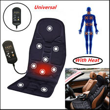 Car Vibration Heat Seat /Cushion Neck Pain Lumbar Support Pads  Neck Back Leg