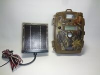 Moultrie MFH-CDC Game/Trail Camera plus Rayovac Solar battery recharger