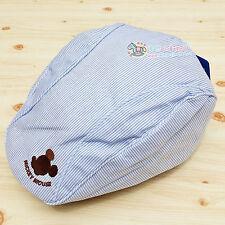 Boys Kids Children Blue Stripe Disney Mickey Mouse French Artist Beret Hat Cap