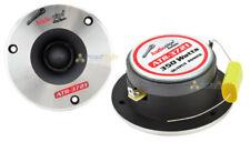 "Set 2 Audiopipe ATR-3721 350 Watt 3.75"" Titanium Bullet Tweeters ATX-3720 Pair"