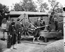 New 8x10 Civil War Photo: Cannon Gun at Fort Woodbury in Arlington, Virginia