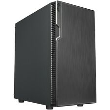 Micro ATX Computer Case, Mini Tower Gaming Desktop PC with 400W PSU, USB 3.0