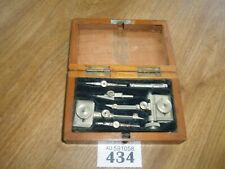 STANLEY TECH DRAWING INSTRUMENTS IN WOODEN BOX