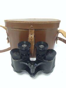 Vintage Zeiss Prism Stereo 6x 30 Diam Bausch & Lomb Optical Binoculars #708