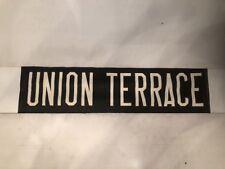 "Aberdeen Linen Bus Blind 704 60-70's 30""- Union Terrace"