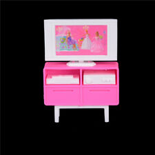 Kid Dollhouse Furniture Accessories TV Set Outfit for Barbie Doll 6D