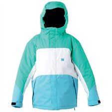 DC Shoes Girls Farah Winter Snowboard Jacket (M) Blue