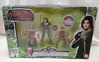 THE CHRONICLES OF NARNIA - *Unopened* Prince Caspian Heroes Of Narnia Figures X3